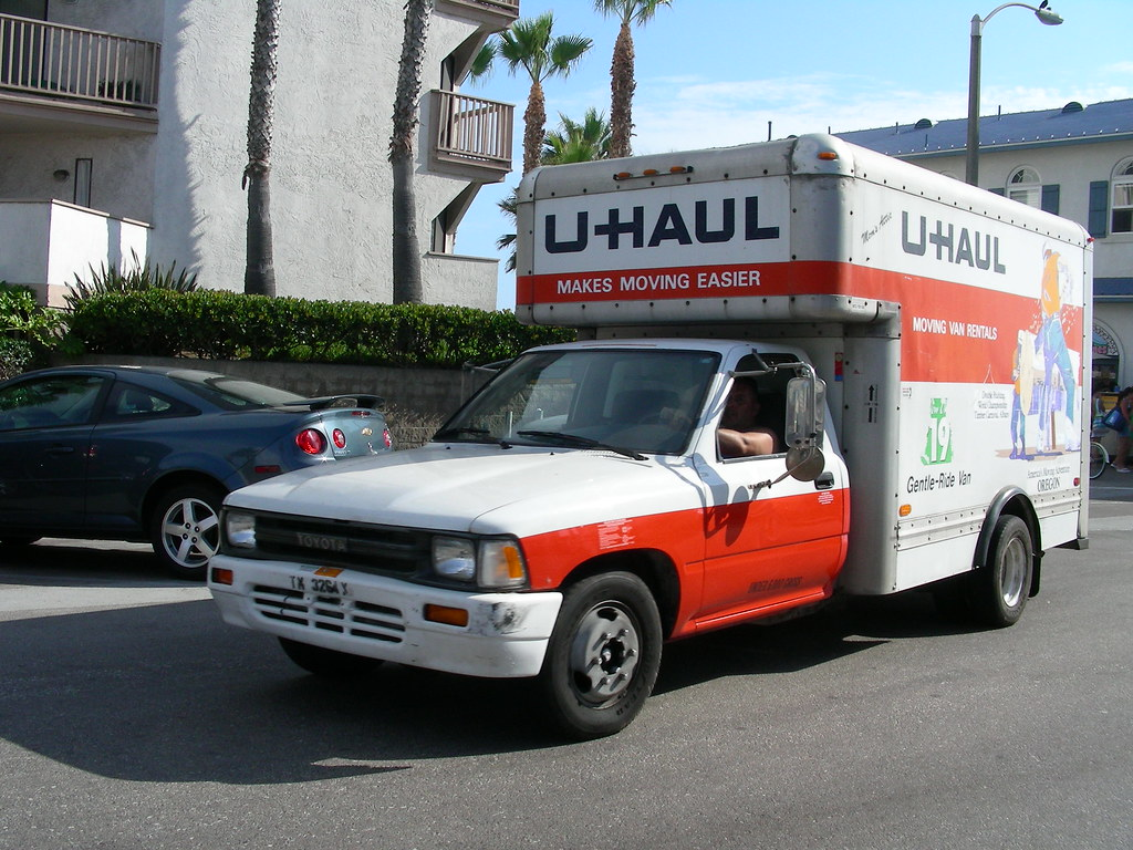 Toyota U Haul Another U Haul Truck This One An Early