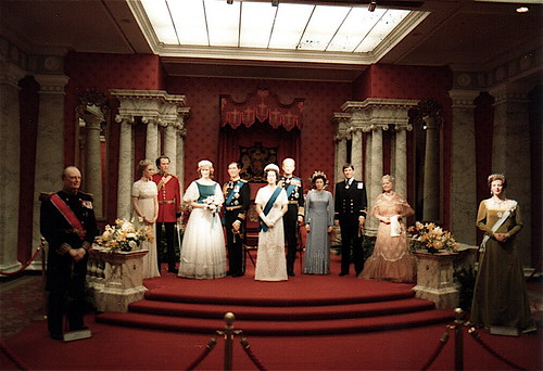 The Royal Family, Madame Tussaud's Wax Museum   London, 16 ...