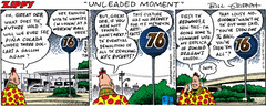 Zippy the Pinhead saves the 76 ball - color | by richardschave