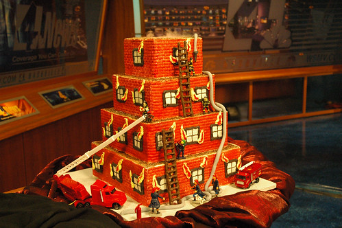 Fireman cake sweetwise kathy wise flickr
