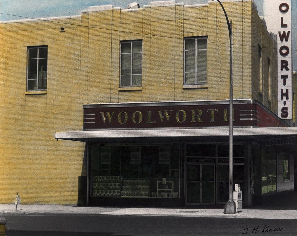 Woolworth's, Augusta, Ga. 1970s