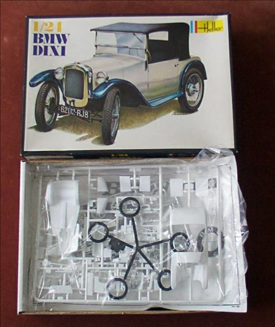 Model Kit Of Austin 7 Based Bmw Dixi Among Many Models I