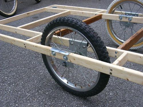 Тележки для велосипеда своими руками 95