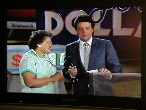 grandma on bowling for dollars, 1987(?) | by jodigreen