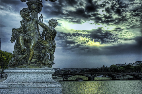 Angels Watching Over Paris | by Stuck in Customs