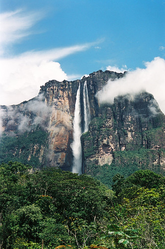Angel Falls from our camp | by davidkjelkerud
