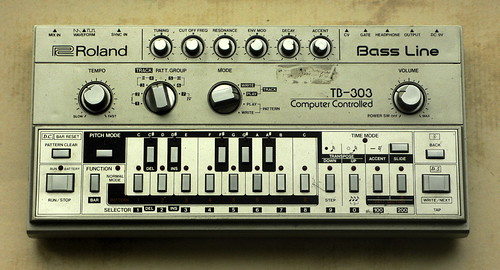 roland tb-303 bass line | by dr. motte