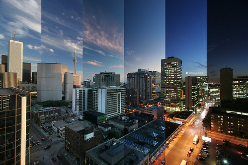 timelapsed downtown toronto | by wvs