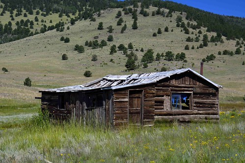 Old settlers cabin located in park county colorado for White rock mountain cabins