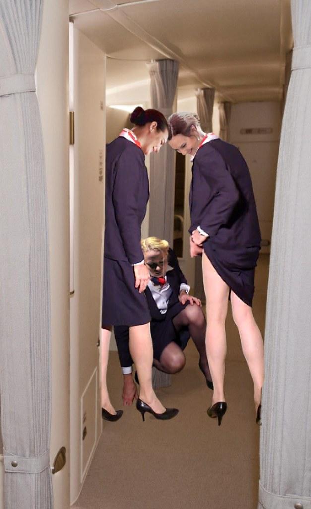 naughty stewardesses