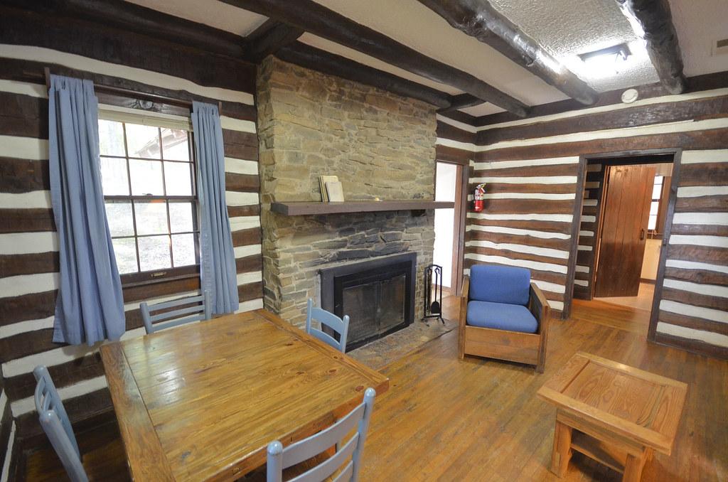 Exceptionnel ... Vastateparksstaff Cabin 3 Fairy Stone State Park Virginia Table   CCC  Cabin | By Vastateparksstaff
