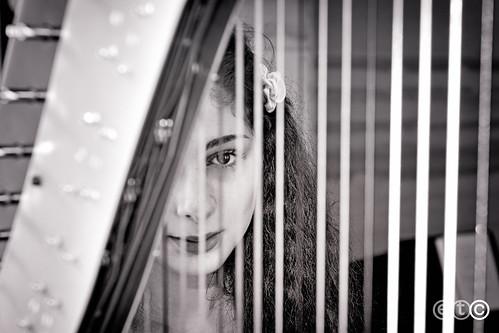 Lucia Foti, arpista