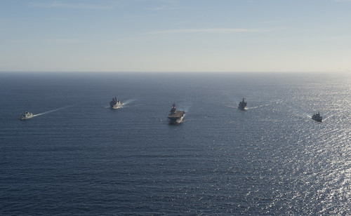 U.S. Navy Begins Exercise with Royal Canadian Navy