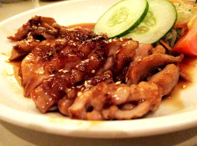 Zen teriyaki chicken