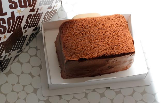 Tops 赤坂トップス ブラックチョコレートケーキ