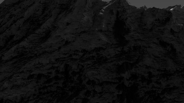 Mounds in Ganges Chasma