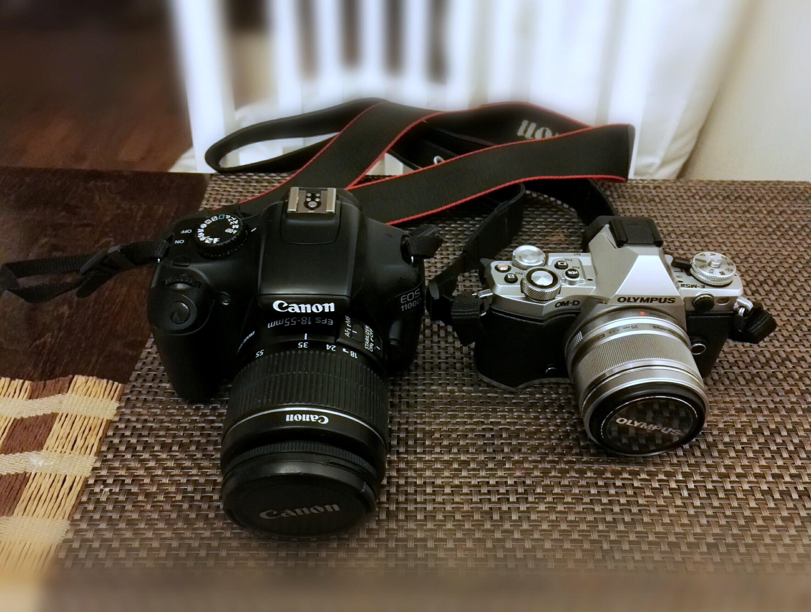kamerat olympus canon