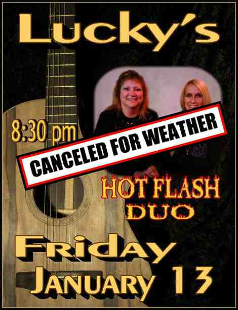 Hot Flash 1-13-17