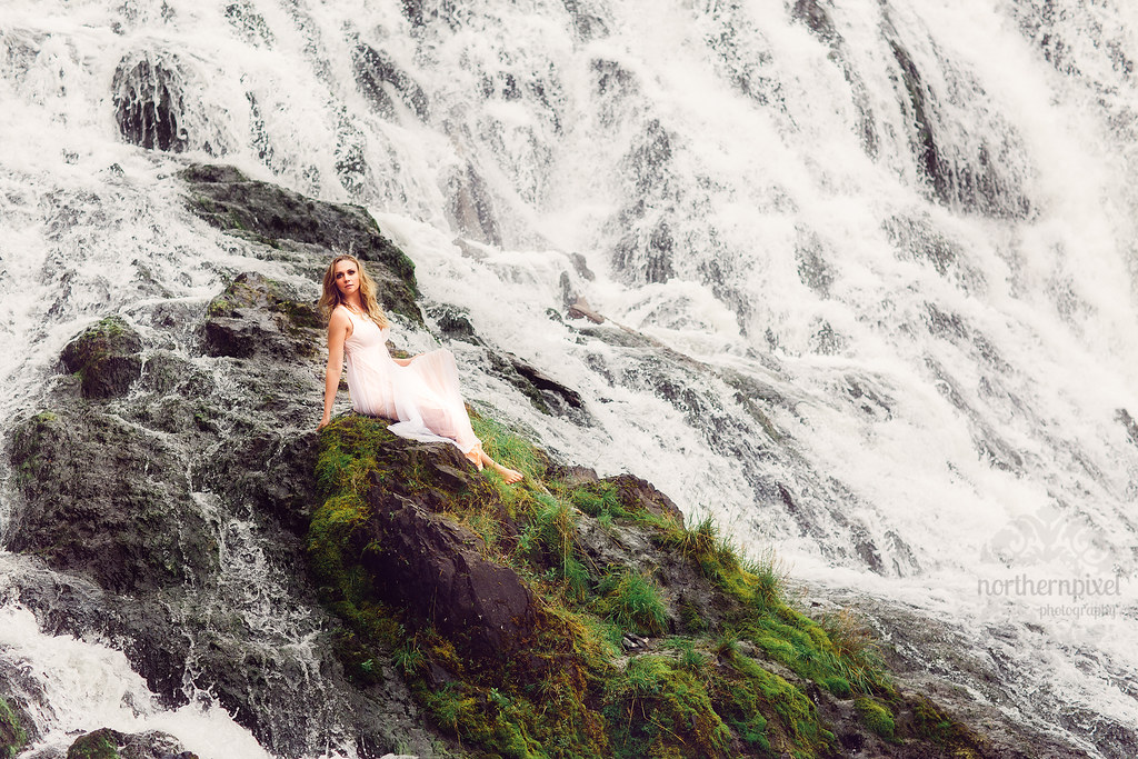 Waterfall Session - Prince George BC