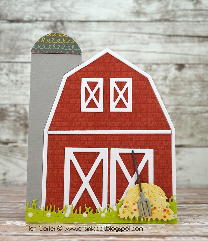 Jen Carter A2 Barn Grassy Hill 2