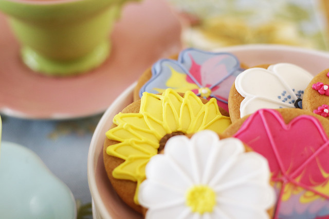 Biscuits from Biscuiteers for Mothers Day