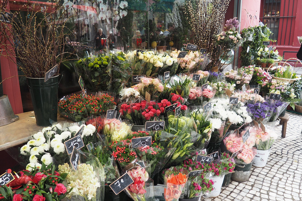 paris flowers