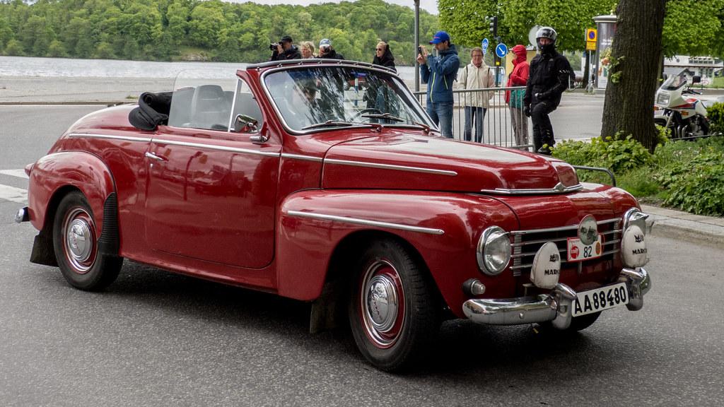 1961 Volvo PV 444 Cabriolet   Photo taken at Kungsholmstorg …   Flickr