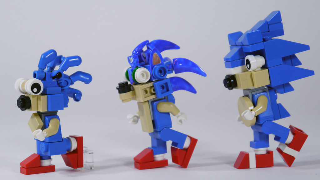 LEGO Sonic the Hedgehog | See how to build him: www