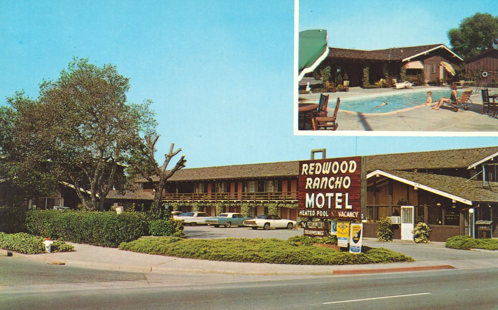 Redwood Rancho Motel - Redwood City, California