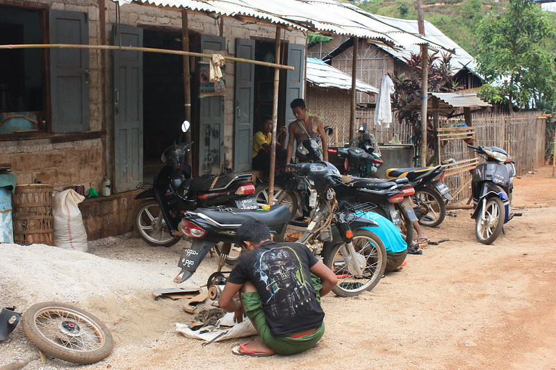 Индейн в Мьянме