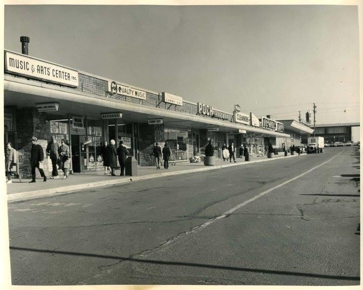 Congressional Plaza Circa 1965 Rockville Md