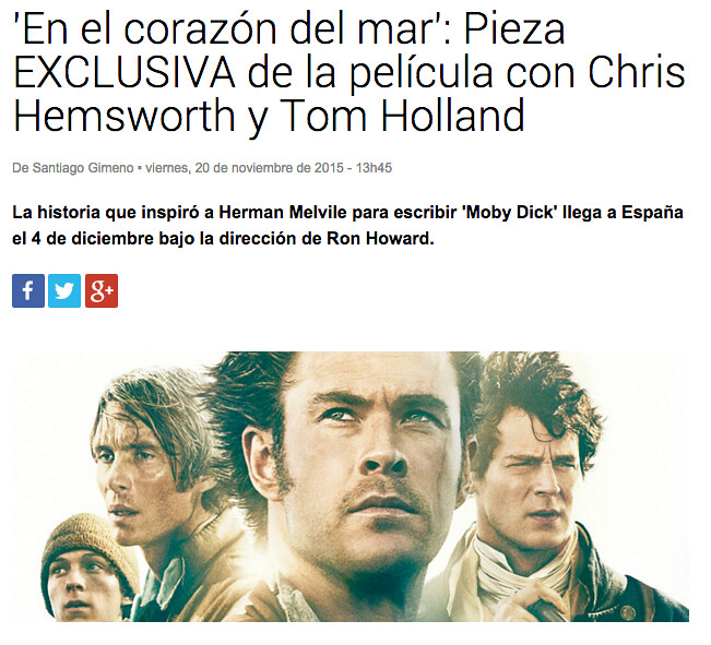 moby dick news, esteban ruiz