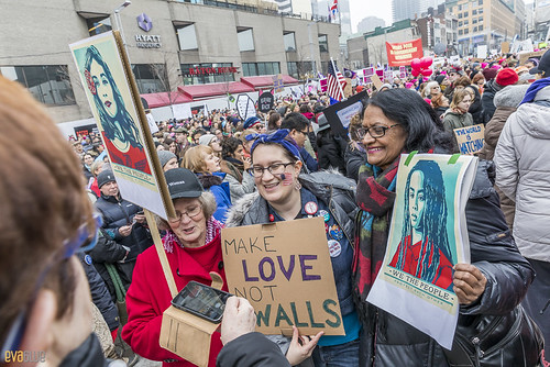 manif des femmes women's march montreal 07 | by Eva Blue