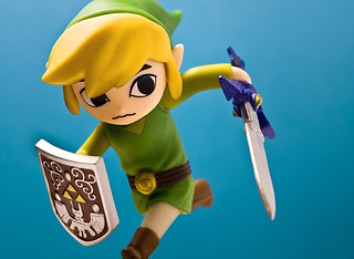 Amiibo - Link (Windwaker) | by Nick Gatens
