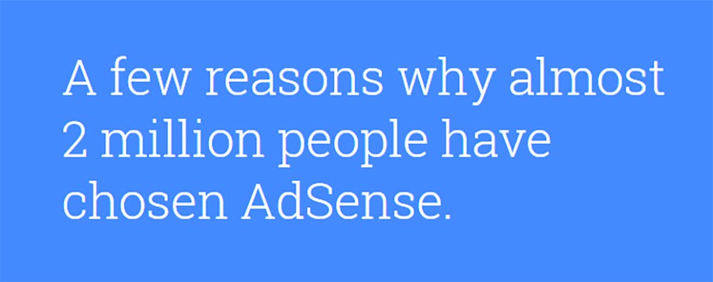 Google AdSense is more reliable than Taboola and Outbrain