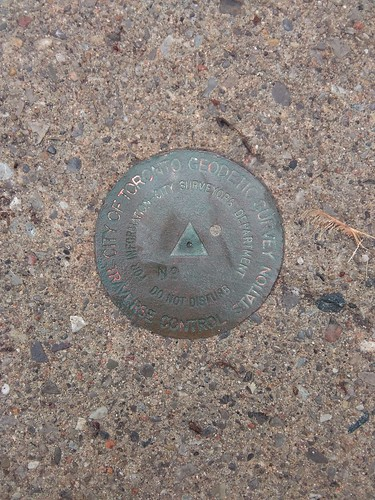 Toronto Geodetic Survey Marker
