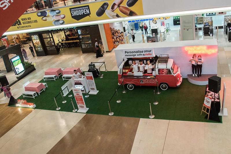 03 - Spot the Kombi van for #NutellaMessenger