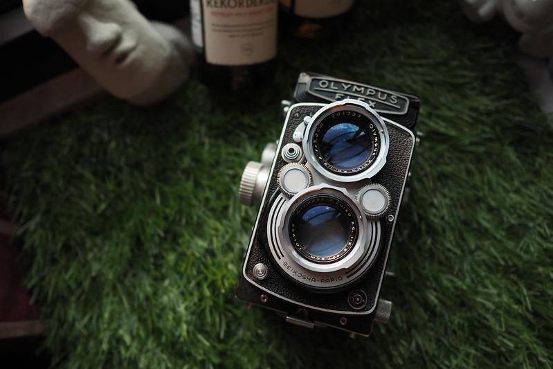 Rolleiflex 2.8D|螺肉 雙眼相機