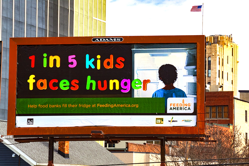 1 in 5 kids face hunger--Ann Arbor