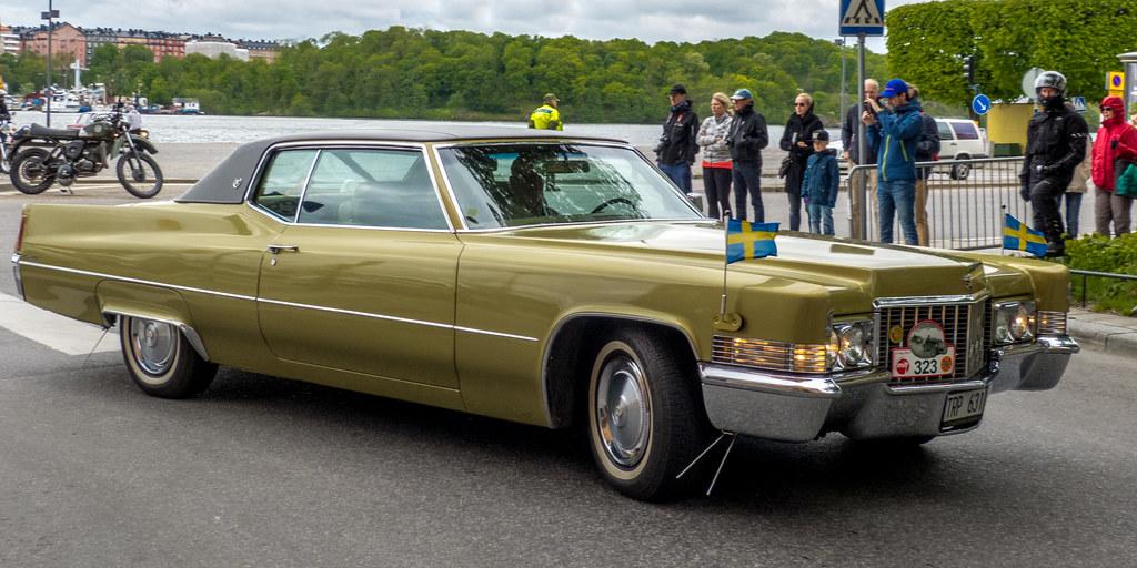 1970 Cadillac Coupe Deville Photo Taken In Kungsholmstorg Flickr