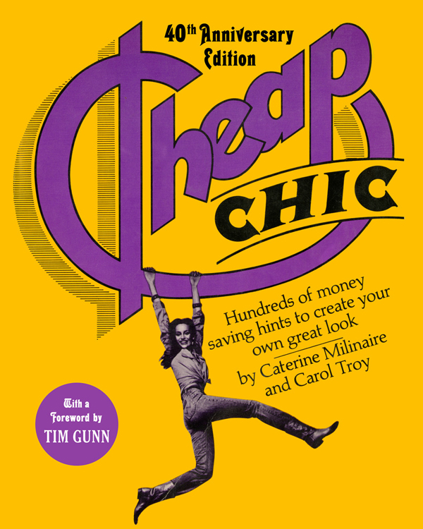 cheap chic 40th anniversary