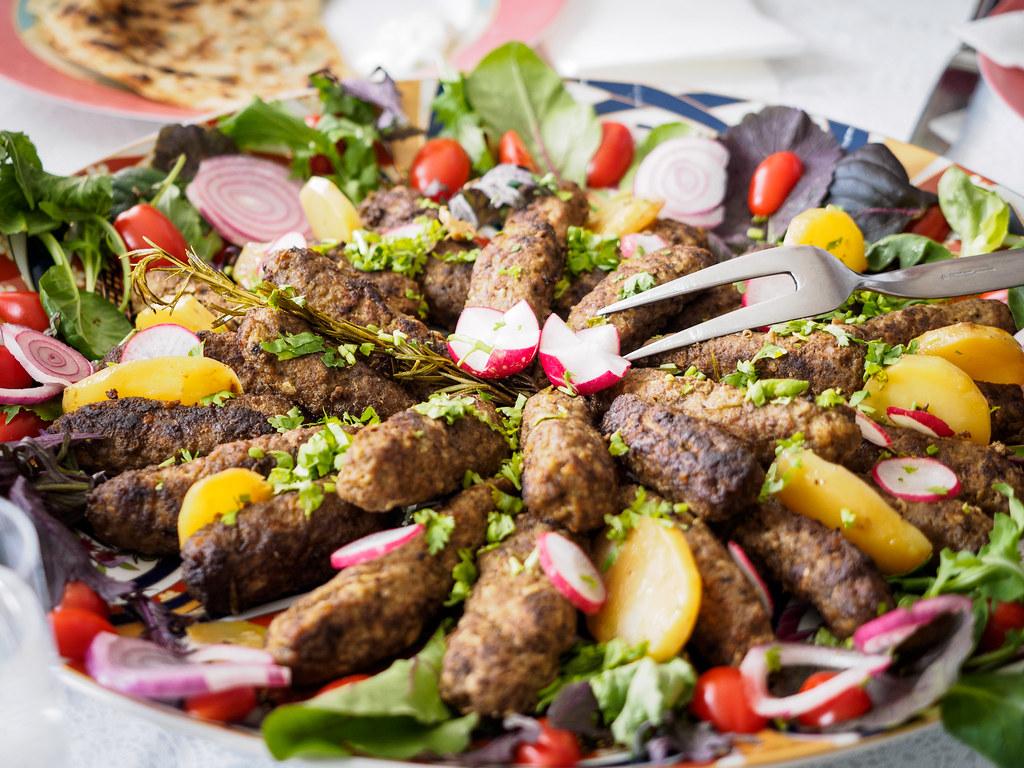 251 365 afghan lola kabob today was a wonderful day for Afghan kabob cuisine