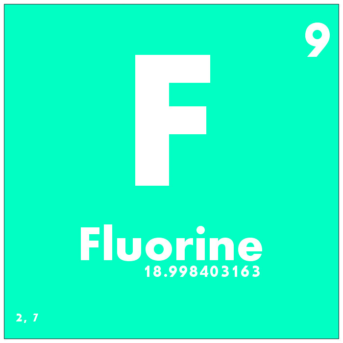 009 Fluorine Periodic Table Of Elements Watch Study Guid Flickr