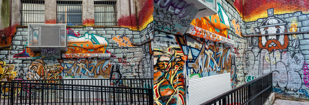 Wall Murals in Gastown District Vancouver BC Canada Flickr