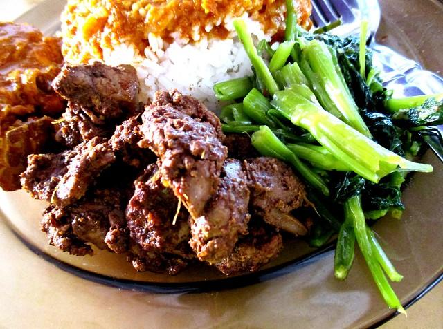 Grace Cafe chicken liver & kangkong