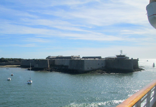 Fort at River Mouth, Opposite Lorient