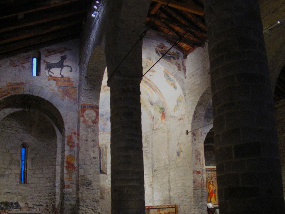 sant climent de taüll_patrimonio humanidad 2000_tres naves-pinturas existentes 2013