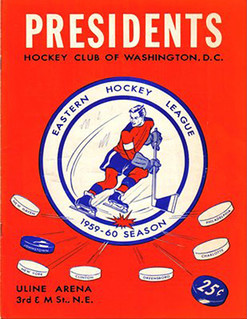 Washington Presidents 1959-60 program | by spyboylfn
