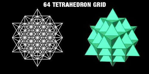 64-Tetrahedron-Grid-