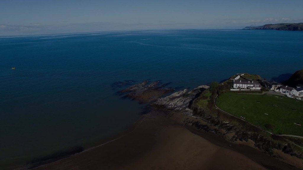 Ysgol Aberporth School Drone Video